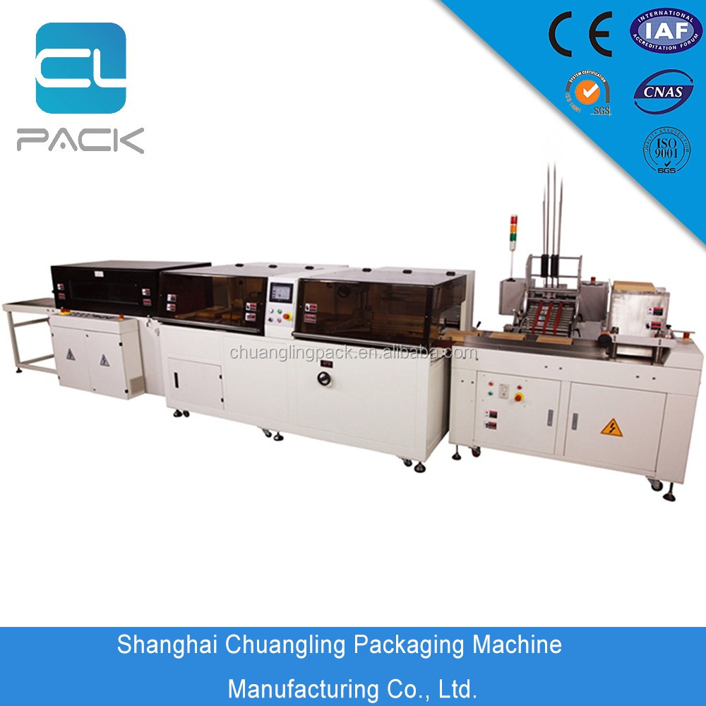 Hot Sale Automatic Shrink Packing Machine For A4 Photocopy Paper