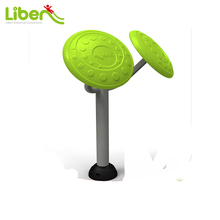 Liben Factory Price Adults Used Steel Park Outdoor Exercise EquipmentSingle Tai Chi Spinners