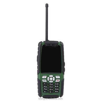 GSM handheld walkie talkie ptt for construction site