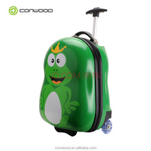 kids trolley school bag single handle lovely children suitcase
