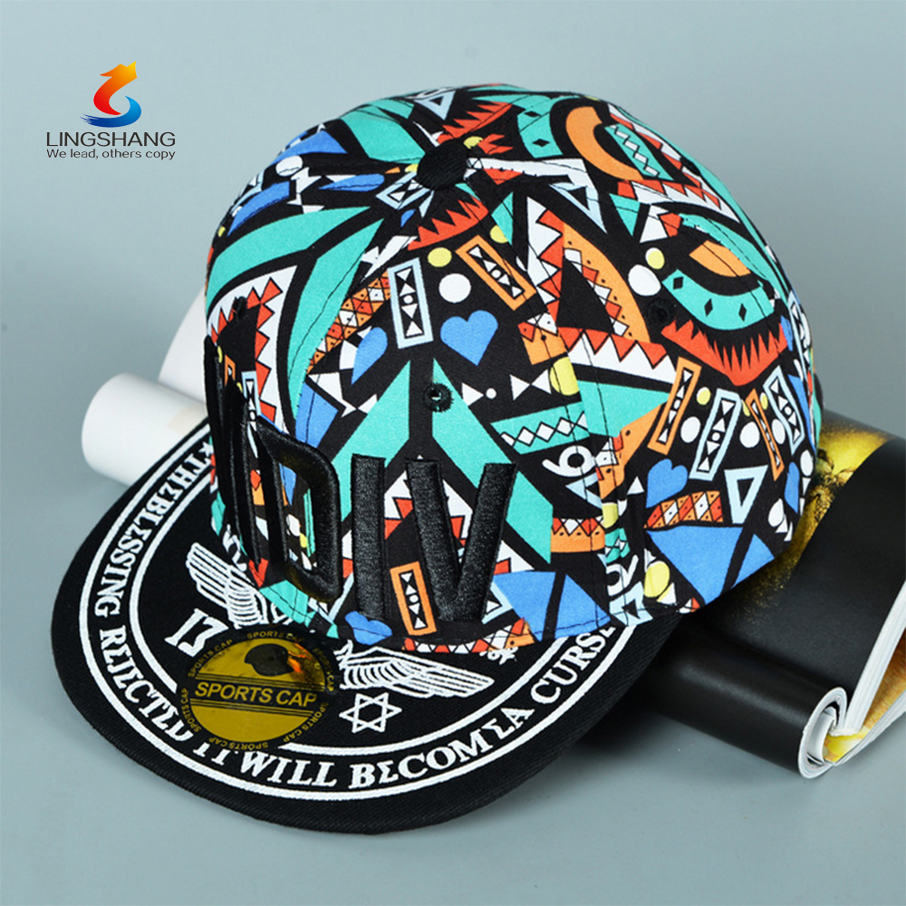 Fashion Custom Design Snapback/ baseball Hat/ Men Cap and Hat With Embroidery Logo