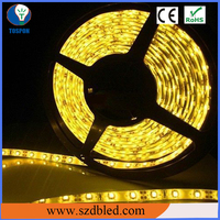 Soft Light without Glaring on Eyes Amber White LED Strip Lights