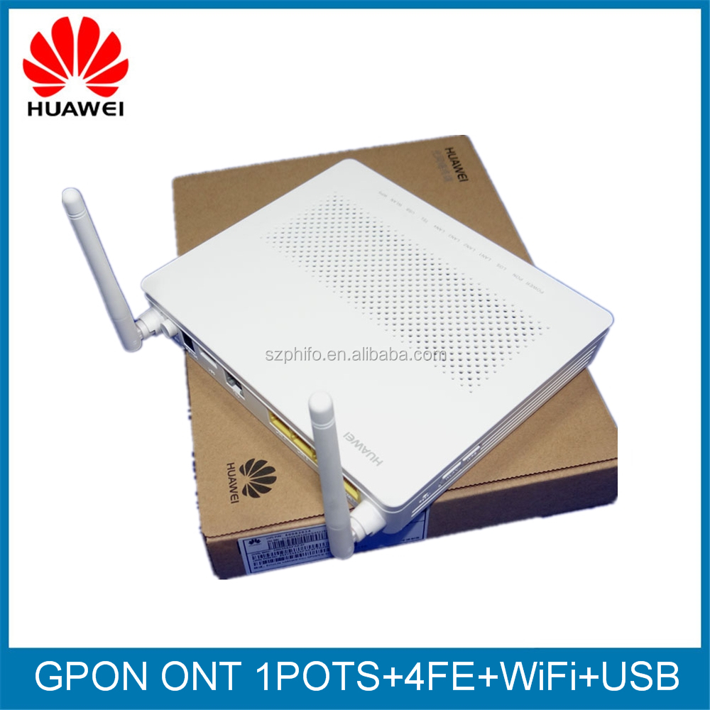 Original new Huawei GPON ONT HG8546M,1POTS+4FE+USB+WiFi,english firmware