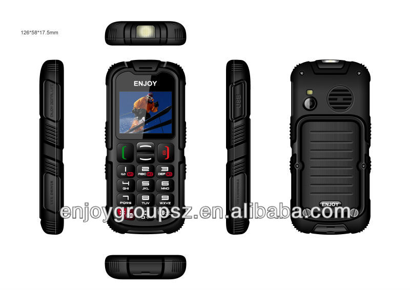 cdma mtk 6276w 1024rom 512ram IP67 phone 1200mAh rugged phone