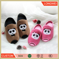 2016 Kids hot sale stuffed best made plush funny animal slipper