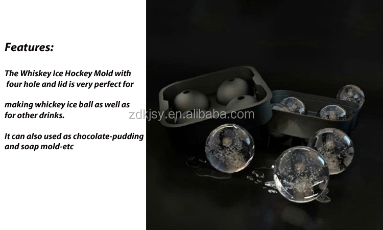 Taobao 4 Cavity Ball Shape Silicone Ice Cube Tray / Silicone Ball Shape Ice Cube Tray Mold/Silicon Ice Ball Mould