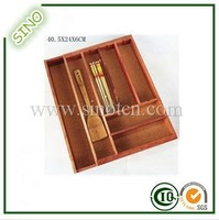 Bamboo Kitchen Organizer Drawer Organizer