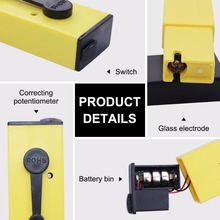 Low price Pocket-size water ph meter digital portable pen type ph meter tester with hard case