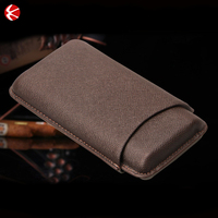 2016 new trendy products Wholesale leather cigar cover
