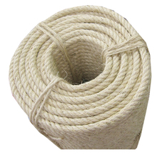 14mm natural fiber good quality sisal packaging rope/hemp rope