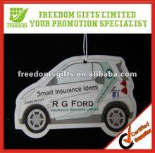 Customized Promotional Car Paper Air Freshener