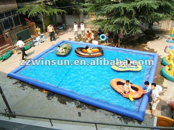 Commercial grade durable pvc inflatable swimming pool toys