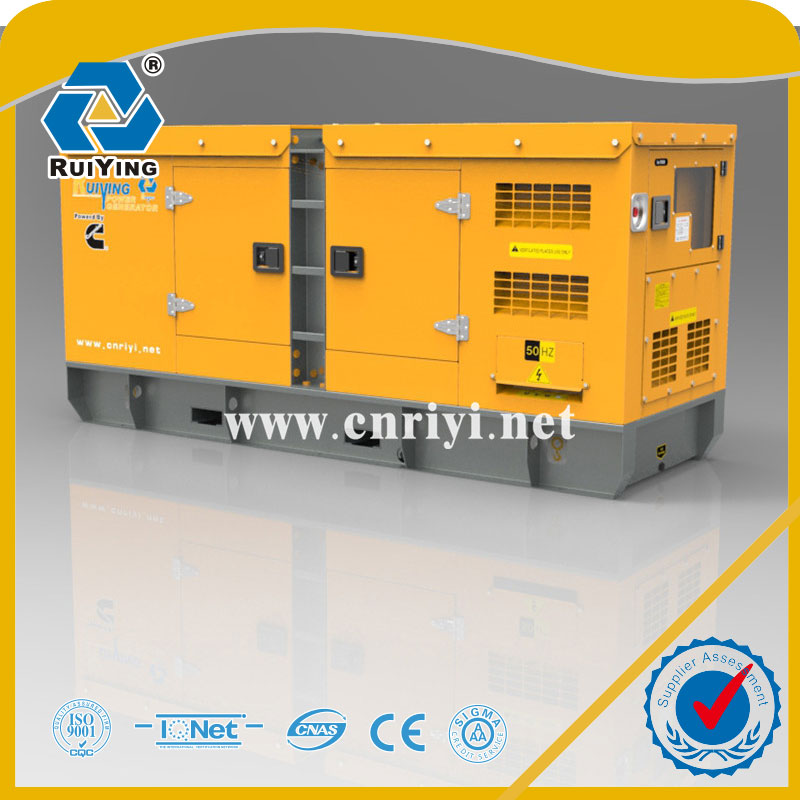 50kw 63kva diesel generator,silent diesel generator for home use