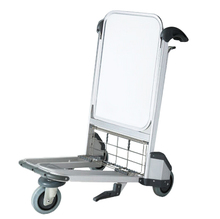 Durable used luggage cart with wheels ,metal luggage cart,baggage trolley