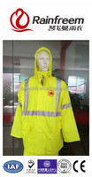 OEM factory custom raincoat fashion durable polyester oxford economic waterproof breathable rain coat