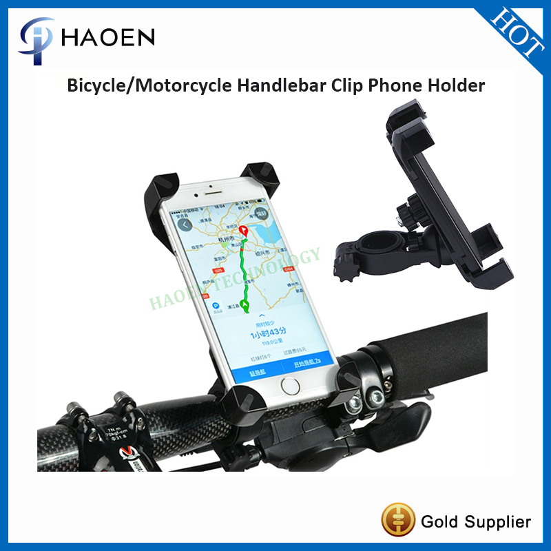 100pcs Universal mobile phone holder Bike Mount Holder 360 dgree Rotate with silicone sponges