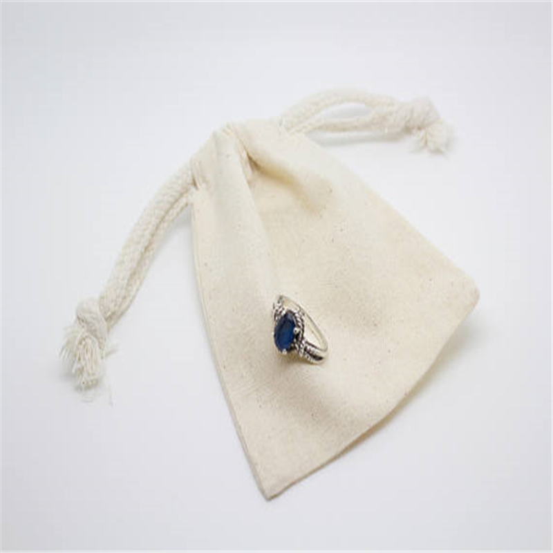 Various Color Cotton Fabric Velvet Jewelry Bag