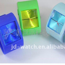 2011 New style SS .COM silicon watch / Popular ODM watch jelly