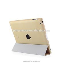 Wholesale Leather shockproof Tablet Cover Case For Ipad 4