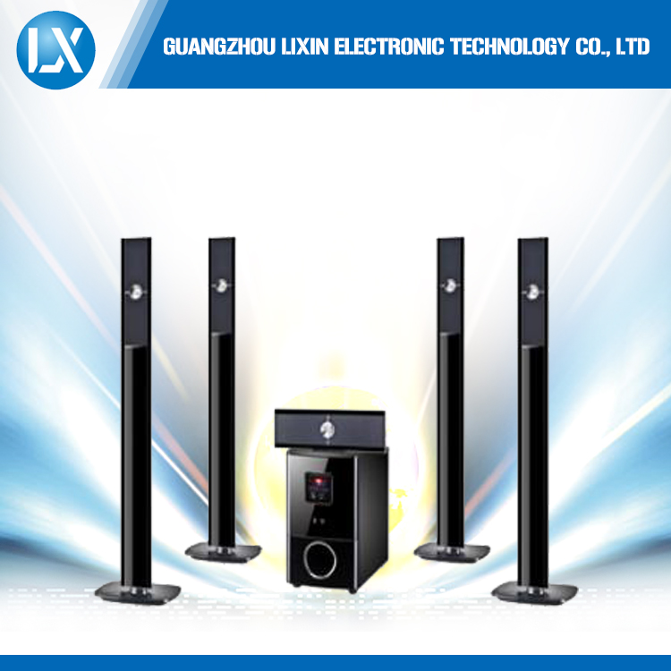 New design cheap wireless bluetooth 5.1 home theater speaker systems with free samples