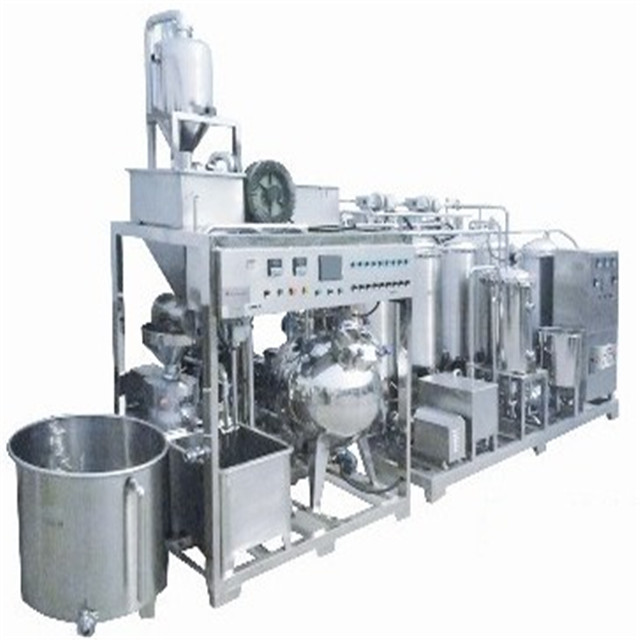 Complete soybean milk / powder / tofu processing line
