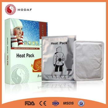 Efficient Therapy Disposable Body Warmer patch Pad