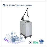 Medical CE approval high quality q switched nd yag laser tattoo removal and pigment removal