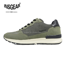 2017 Insgear New Design Comfortable Used Name Brand Lace Sneakers