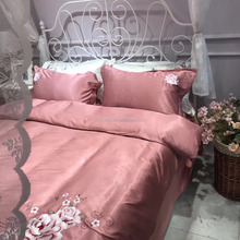 Jacquard cotton dyeing bed sheets/bedsheets/bedding sets/home textiles