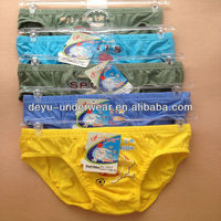 0.33USD High Quality Cotton Material Mixed Size Kids Cotton Panties/Children Thongs(kcnk061)