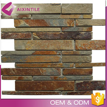 Similar To Rusty Strip Mosaic Marble Material Wall Tile