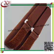 Top Sale Coffee Color Printed Nylon Adhesive Bandage With Plastic Buckle