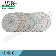 diamond flexible dry hand polishing pads