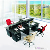 High Quality Glass Office Table Workstation