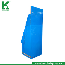 Store Accessories Product Corrugated Paper Cardboard Step Tray Display Stand