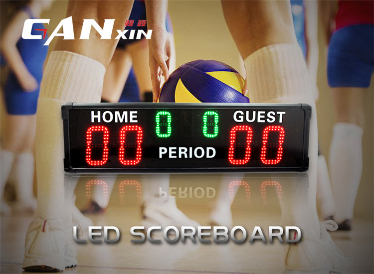 New products CE & RoHS certificate wall mounting digital large led display tennis scoreboard