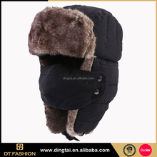 Winter warmers designer ear muffs new jacquard hat for fans