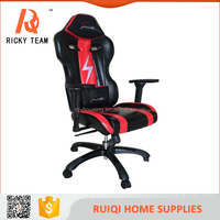 Newest design and high back racing office chair with adjustable armrest/modern dxracer PC gaming chair