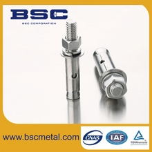 Stainless Steel Different Type of Chemical anchor bolts M20 Shied Anchor Bolts
