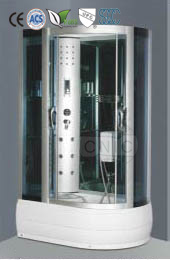 Functional Baths Prefab Steam Shower Room Enclosure with Massage Jets
