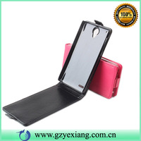 China phone case flip PU leather cover for Lenovo S890
