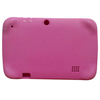 pink universal 7 inch silicone protective rubber tablet bumper case