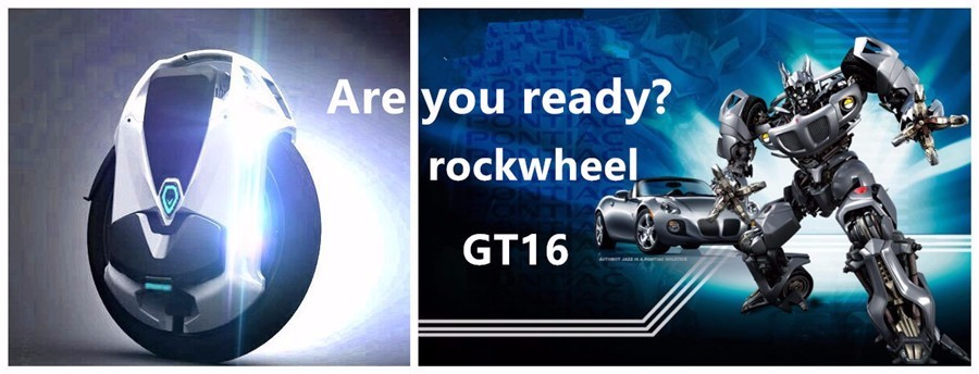 Rockwheel GT16 powered unicycle global booking 84 v voltage 858 wh speed surprise Electric bicycle mini car