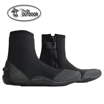 Premium Double-Lined Neoprene Scuba Diving Boots