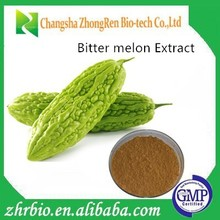 GMP factory 100% pure natural Bitter melon Extract 10:1
