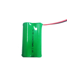 Nimh Rechargeable Battery Pack 2.4V Size AA 2200mAh
