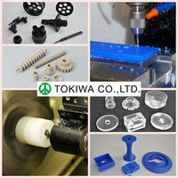 Japanese,plastic processing, OEM for PMMA,PET, by high precision equipments(machine parts)