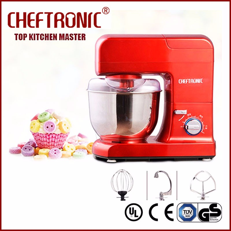 Kitchen food aid stand food mixer multi function spiral dough mixer with variable speed