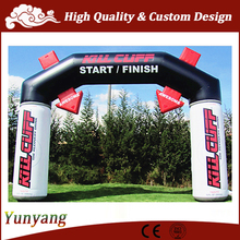 Inflatable start/ finish line arch, cheap inflatable arch