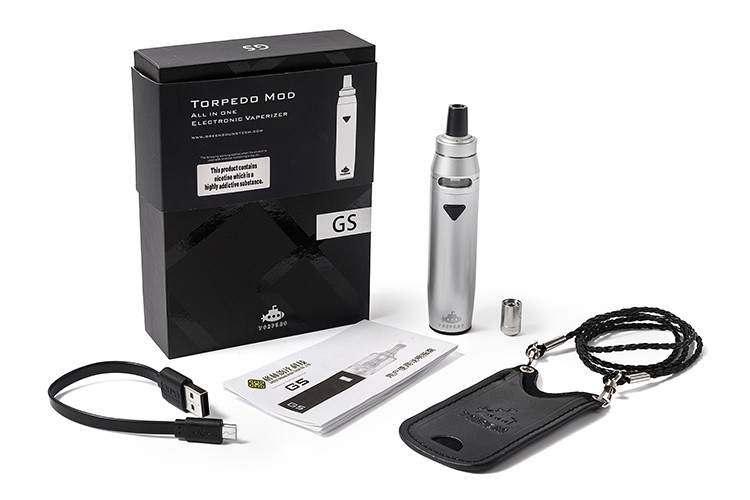 Greensound electronic cigarette Childproof airflow system ego AIO GS G6 vape kit